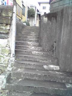 神楽坂階段