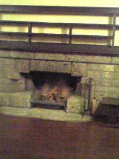 明日館 暖炉