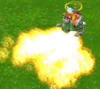 火炎放射!