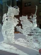 旭川冬まつり氷像2