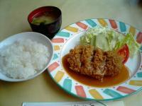味かつメンチカツ定食1