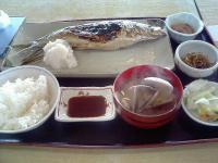 青塚食堂にしん焼き定食スペシャル1