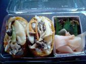 きのこ王国きのこと山菜のいなり寿司