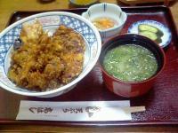天ぷら高はし天丼1
