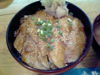 平野屋炙り銀かれい丼2