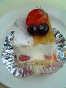 ププリエ苺のミルフィーユ