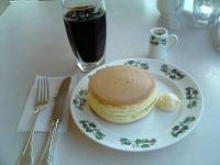 六花亭ホットケーキ1