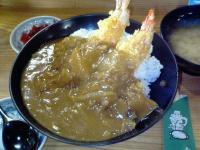 蝦天分店蝦カレー天丼2