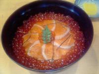一休屋鮭親子丼2