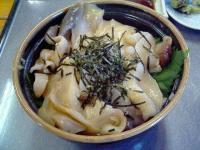 ぷらっとみなと市場ふじ十食堂ほっき丼2