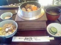 味しるべ駅逓豚角煮釜飯1