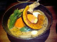 yellowチキン野菜カリー1