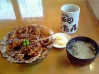 ぶた八豚丼一郎1