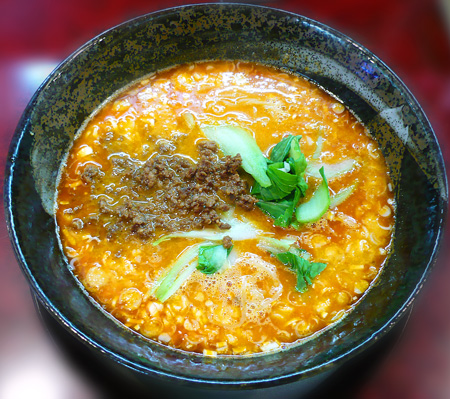 担々麺(汁有り)