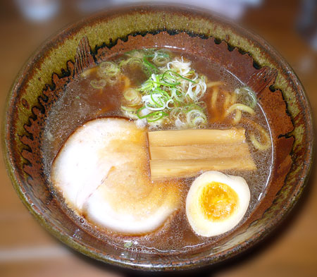 しょうゆ太麺