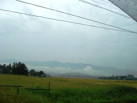 1.福島の山並み