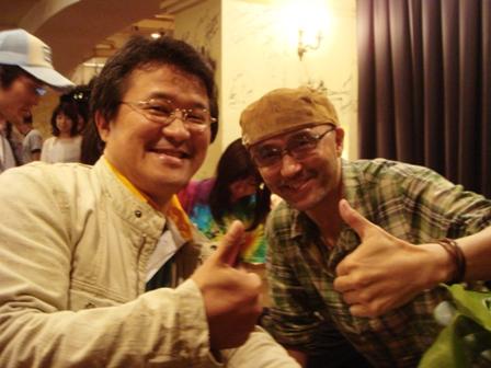 斉藤 誠さんと石ちゃん