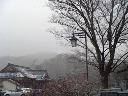 1-8.雪の弥彦駅