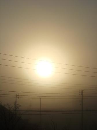 090128_朝靄の太陽