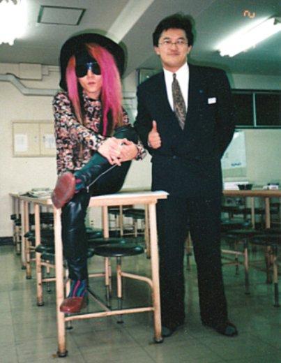 在りし日のHIDEと若き石ちゃん(小)