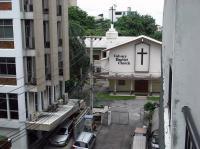 バルコニーから教会 RIMG0712