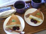お茶菓子プリンケーキ2-1