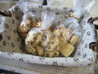 お茶菓子3種のクッキー