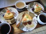 お茶菓子ベイクドチーズケーキ