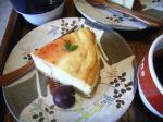 お茶菓子ベイクドチーズケーキ2
