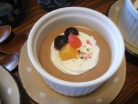 お茶菓子チョコムース2