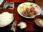 竜田揚げ定食504円
