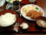 白身魚フライ定食504円