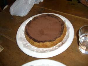 ママ達用 チョコケーキ