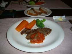 那須牛のステーキ