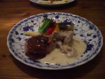 トルネードステーキ&豚肉の煮込み
