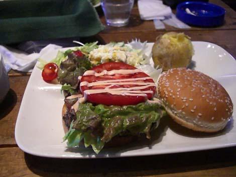 ハンバーガーランチ