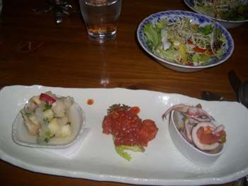 オードブル&サラダ