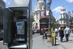 公衆電話&バス停