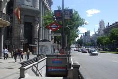 地下鉄マドリッド