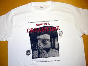 夢時間Tシャツ白サンプル