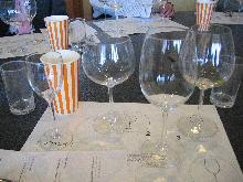 ワイングラスの講習0412
