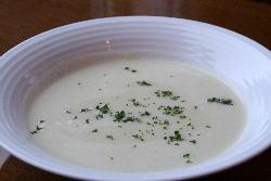 松本一本葱のスープ