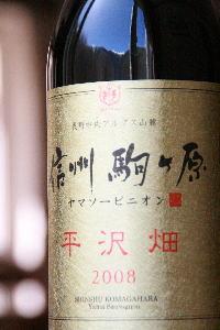ヤマソービニオン平沢畑2008