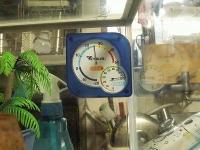 温室時計チェック