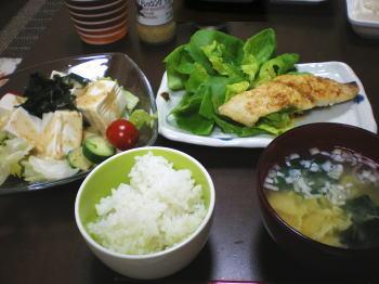 6月23日の夕食