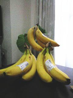バナナ祭りじゃぁ~!!
