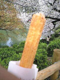 ロングチュロス☆キャラメル味