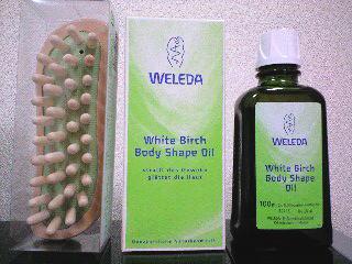 ヴェレダ ホワイトバーチセルライトオイル
