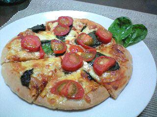 手作りピザ1