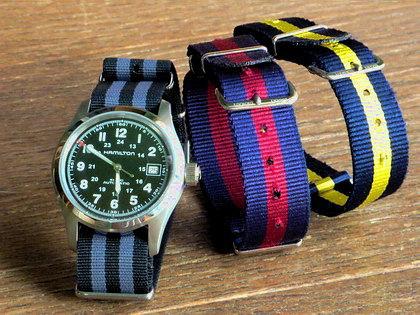 SMART TURNOUT・・他/時計のベルト着せ替えで気分を変えてみる。